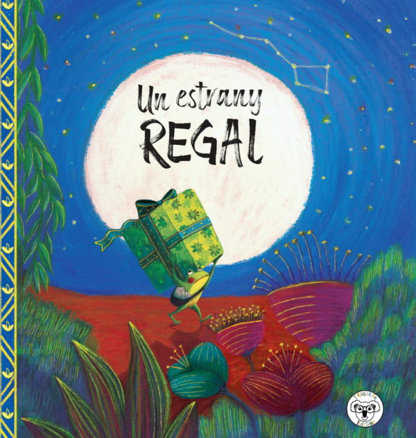un estrany regal triqueta verde